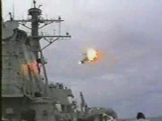 Explosion d'avion