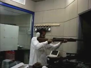 Hamed et son fusil