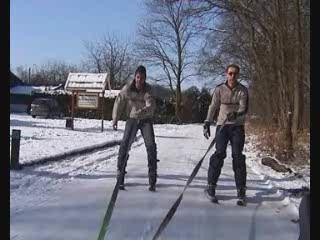 Remorquage à Ski