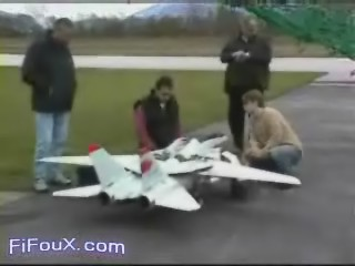 Avion telecommande